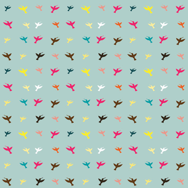 Free Stock Vector: Colorful Hummingbird Wallpaper - The Shutterstock Blog