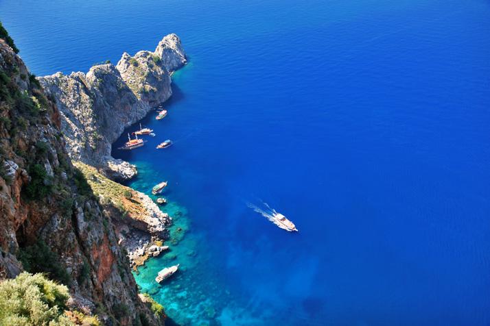 Alanya coast by Shutterstock contributor Zbynek Jirousek