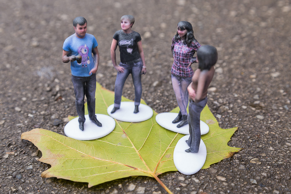 An example of Shapify 3D printing.