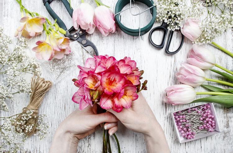 Agnes Kantaruk |Florist at work