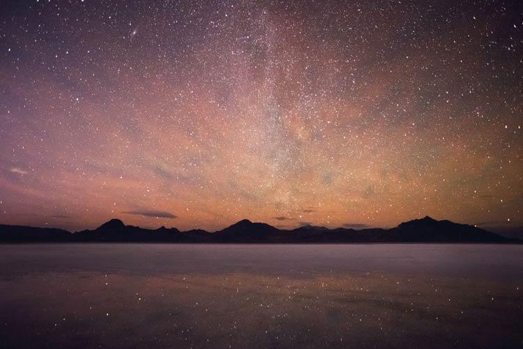 Stargazing in the Salt Flats of Utah / Abbott Kinney preset