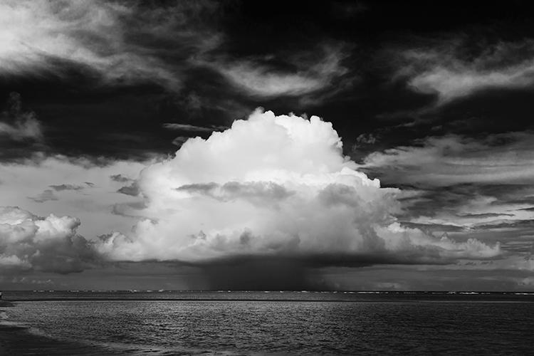 Brian Hodges| Clouds above the ocean at Ilha Boipeba, Brazil