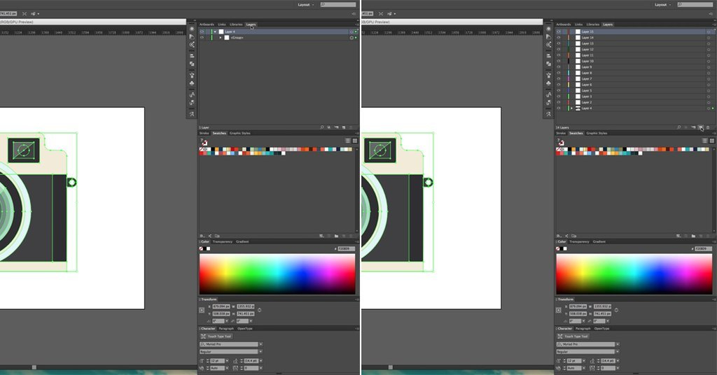 Open Layers/Create Layers