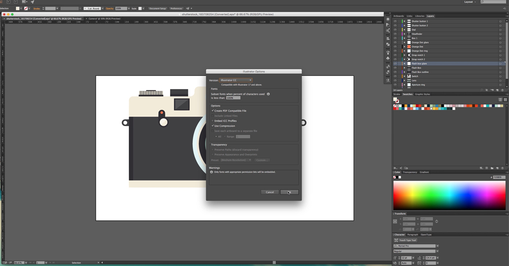 illustrator files in after effects