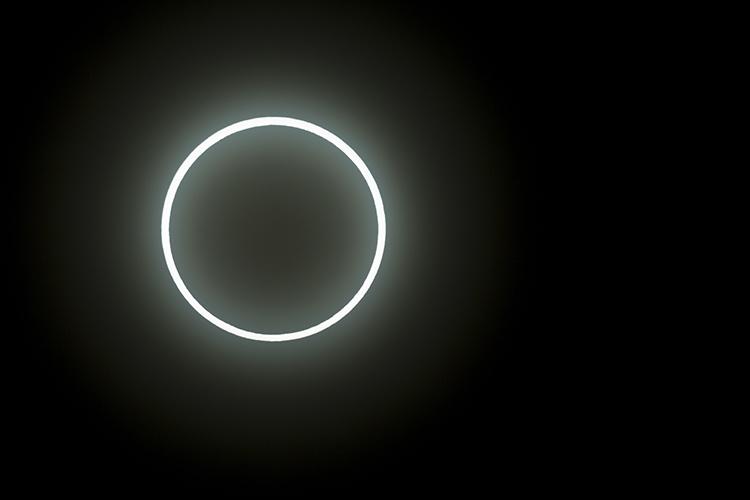 Annular Eclipse of the Sun by Martin Bailey
