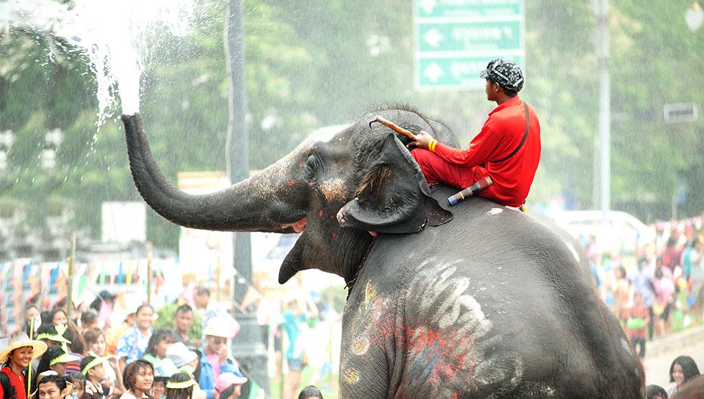 Songkran Festival in Ayuttaya, Thailand by topten22photo