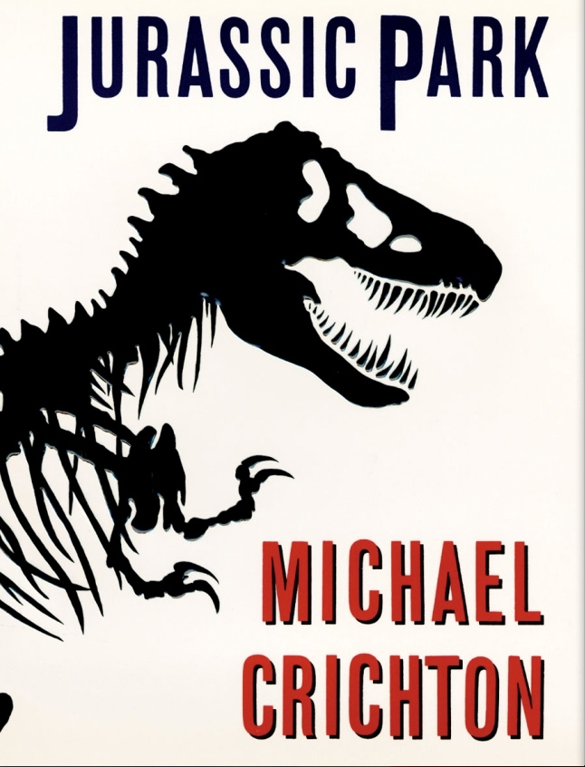 23 Book Covers Show What Goes into Best-Seller Design – Jurassic Park