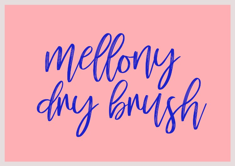 The Best Sites to Source Free High-Quality Fonts for Your Designs — Mellony Dry Brush