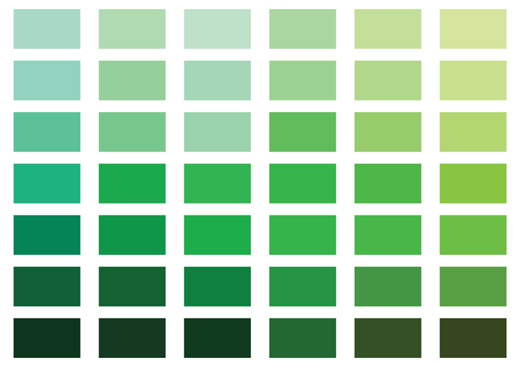 How Monochromatic Color Palettes Help You Create Elegant Designs – Tints, Tones and Shades