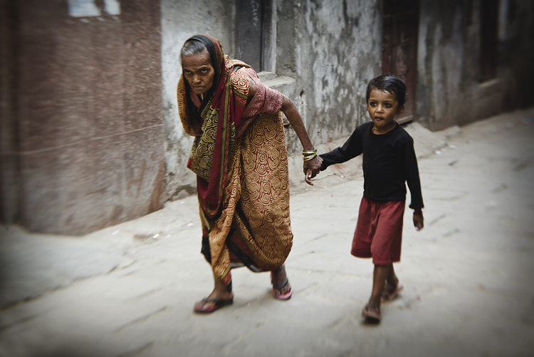 """The Best Gear for """"Fly-on-the-Wall"""" Street Photographers — Grandmother and Grandson"""