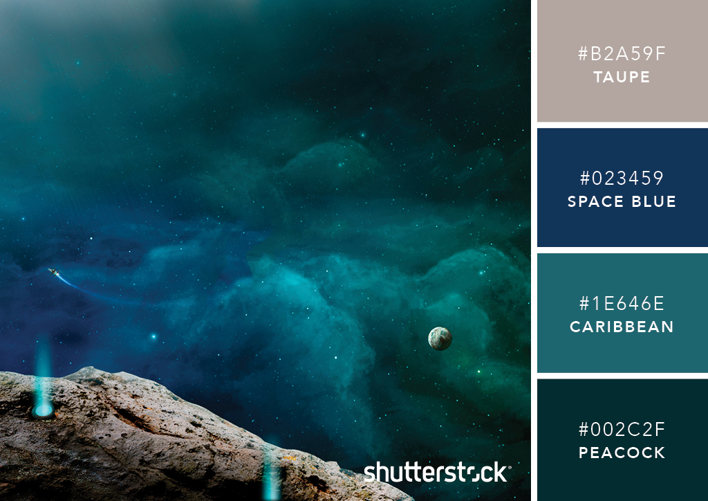 101 Color Combinations to Inspire Your Next Design – Celestial Green Color Palette