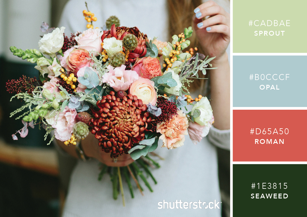 101 Color Combinations to Inspire Your Next Design – Blooming Bouquet Color Palette