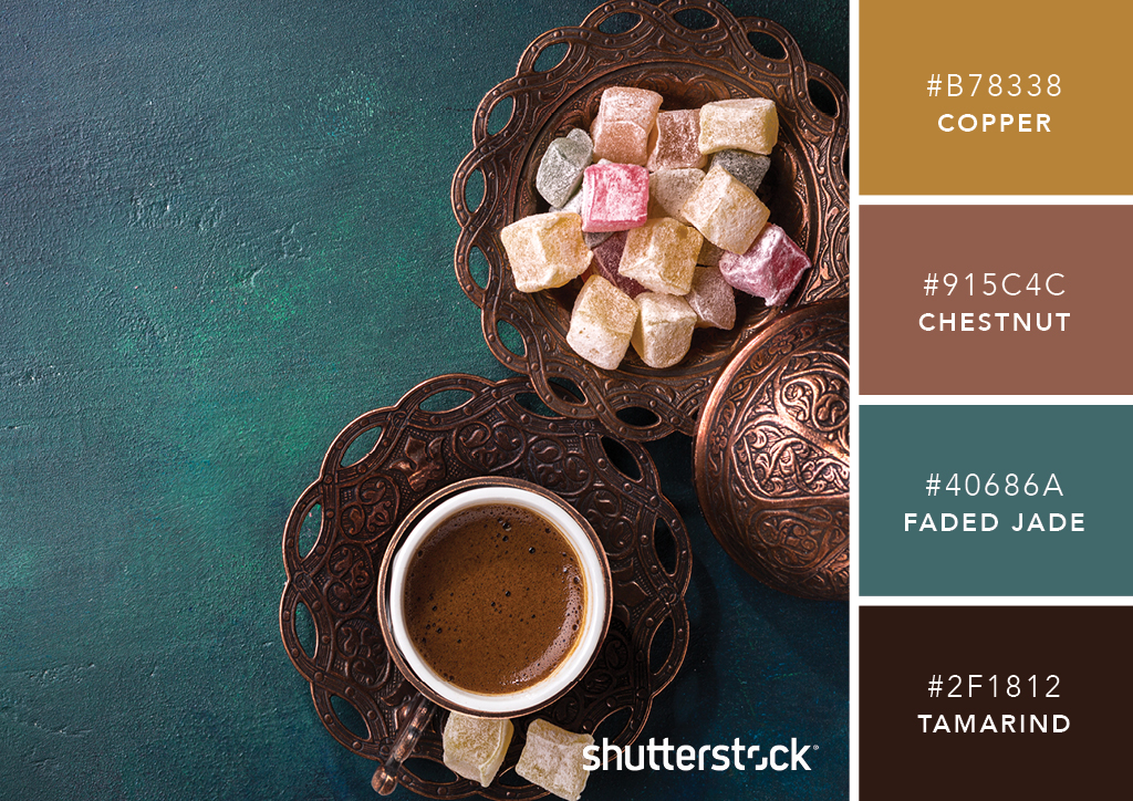 101 Color Combinations to Inspire Your Next Design – Turkish Coffee Color Palette