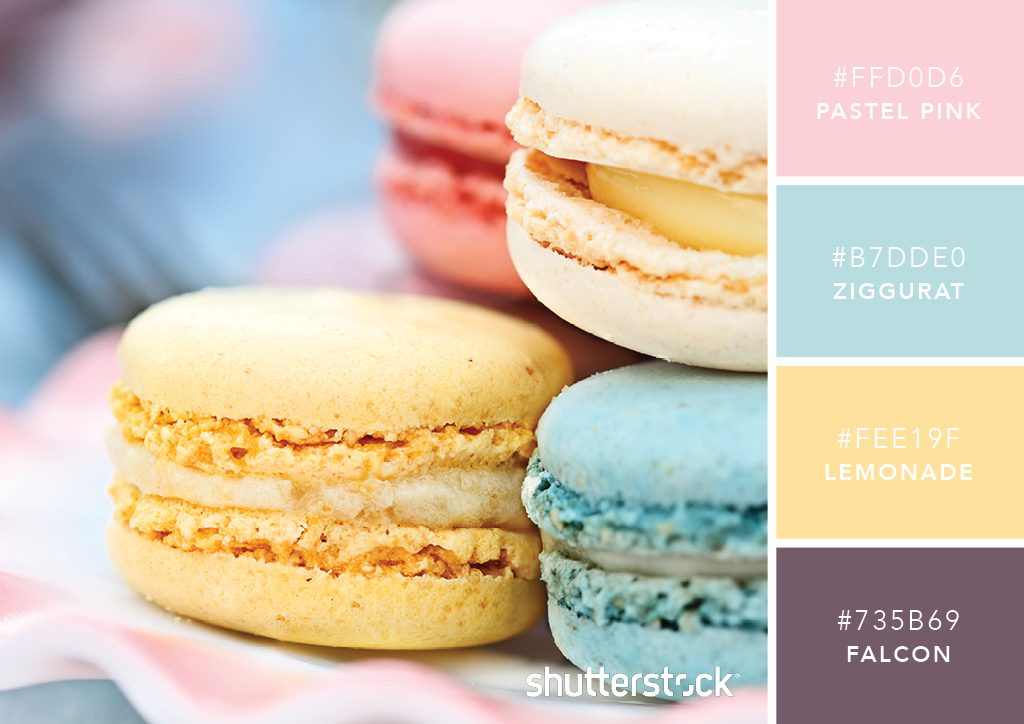 101 Color Combinations to Inspire Your Next Design – Pastel Pastries Color Palette