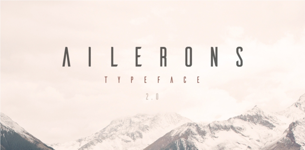 25 Free Futuristic Fonts to Jump-Start Your Designs – Ailerons Free Font
