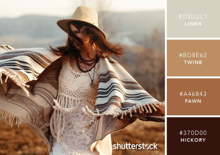 101 Color Combinations to Inspire Your Next Design + Free Swatch Download - Western Wear Brown Color Palette
