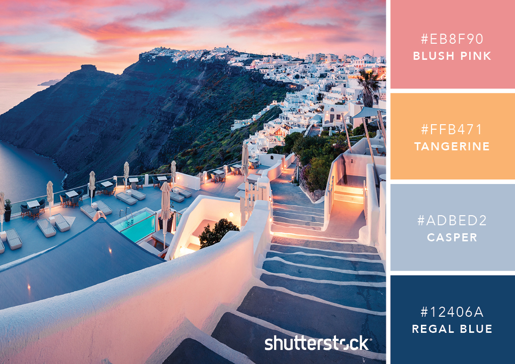 101 Color Combinations to Inspire Your Next Design – Greek Getaway Color Palette