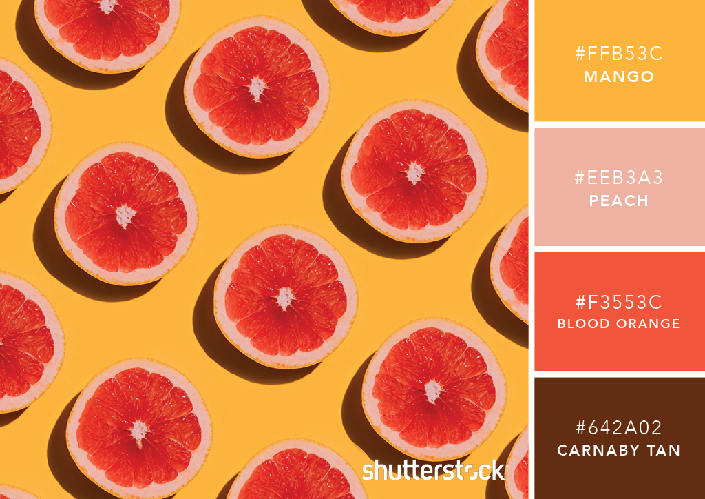 101 Color Combinations to Inspire Your Next Design – Citrus Color Palette