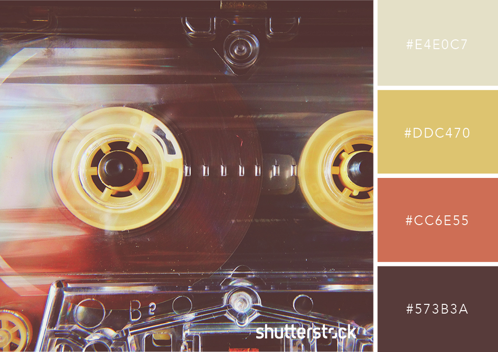 25 Retro and Vintage Color Palettes + Free Swatch Download