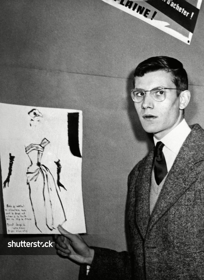 10 Facts About Legendary Fashion Designer Yves Saint Laurent