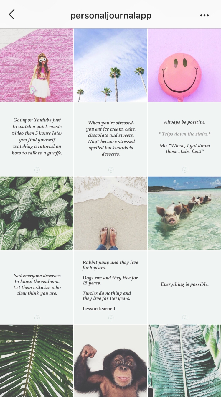 Three Easy Ways to Improve Your Brand's Instagram Feed — Grid Layout