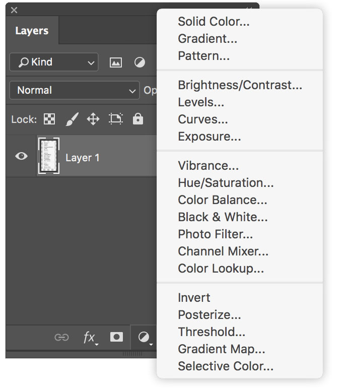 You Should Be Using Photoshop's Adjustment Layers — Layers Window