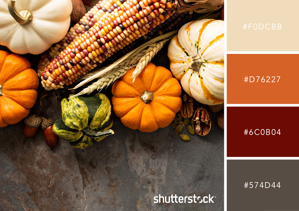 20 Free Seasonal Color Palettes for Your Next Holiday-Themed Project — Rustic Harvest