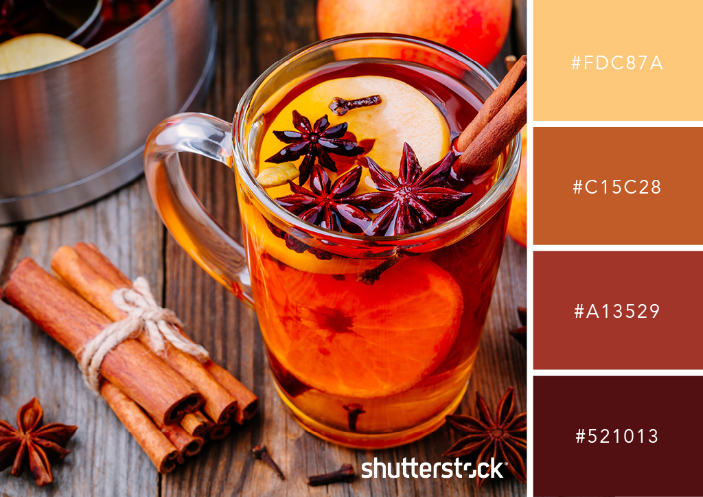 20 Free Seasonal Color Palettes for Your Next Holiday-Themed Project — Autumn Cider