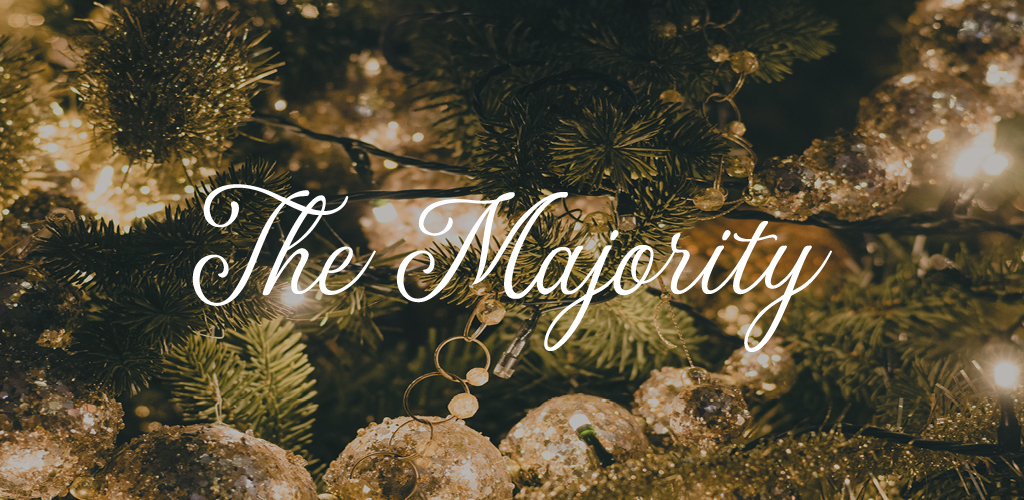 Free font for Christmas - The Majority font