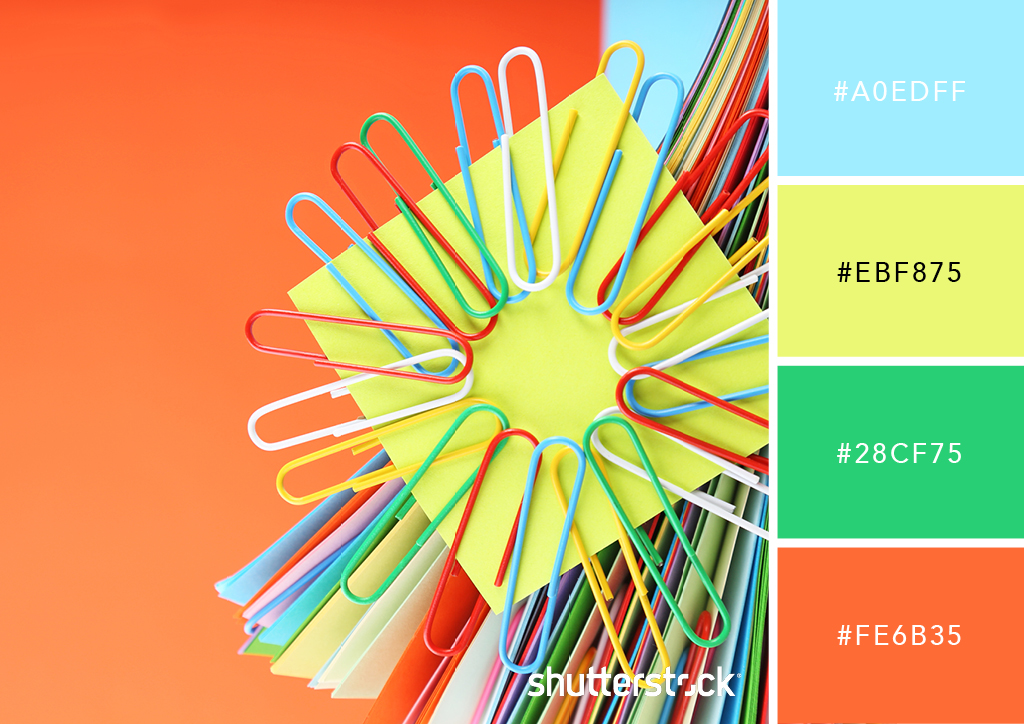 25 Eye-Catching Neon Color Palettes to Wow Your Viewers