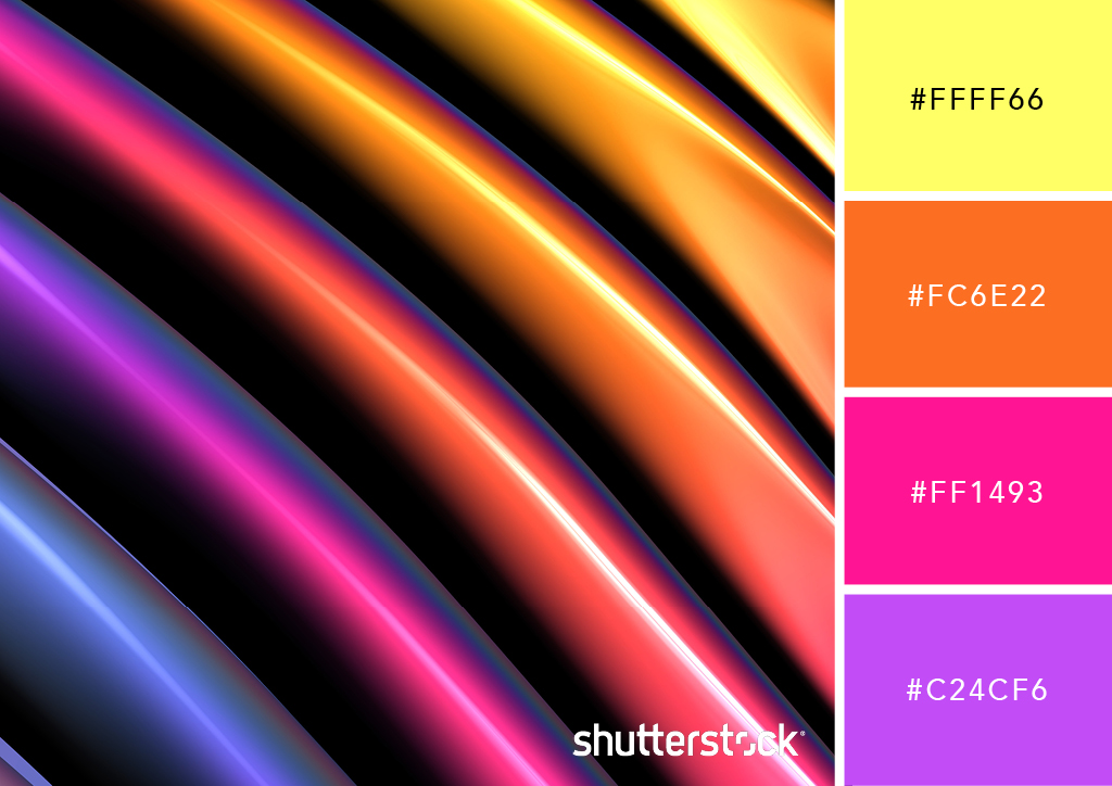 25 Eye-Catching Neon Color Palettes to Wow Your Viewers — Smooth Prism