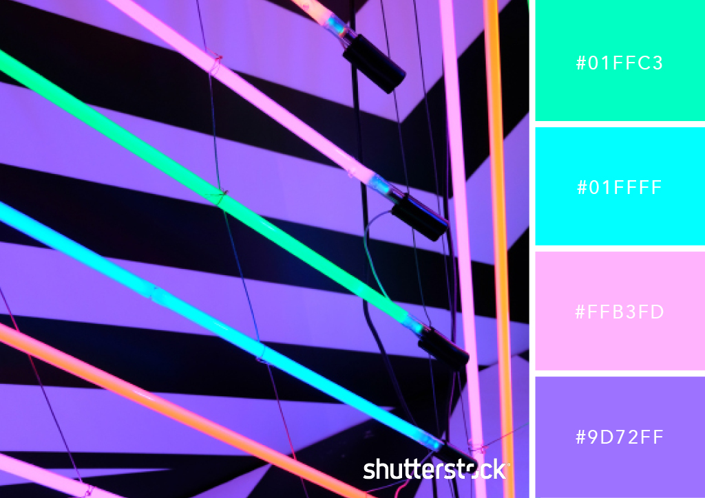 25 Eye-Catching Neon Color Palettes to Wow Your Viewers — Luminous Lines