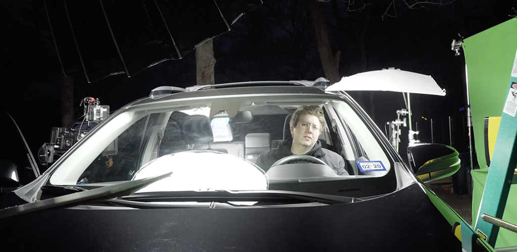 How To Light A Car Scene Using The Poor Man's Process — Green Screen