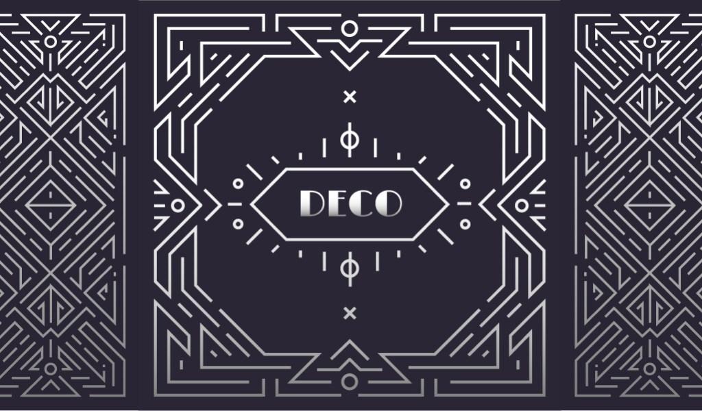 4 Art Deco Graphic Design Techniques and Applications — Geometric Symmetry