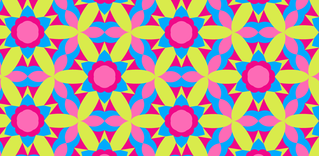 Make a Kaleidoscope Pattern with Illustrator in Three Simple Steps — Finished Pattern