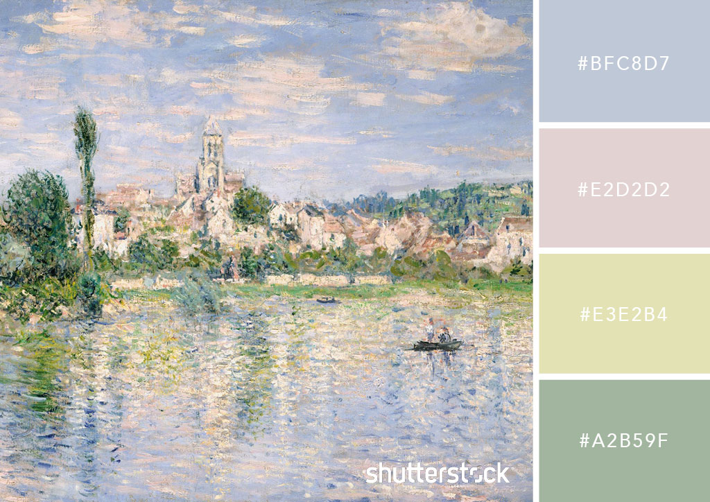 7 Inspiring Kid Room Color Options For Your Little Ones: 20 Pastel Color Palettes To Get The Rococo Art Look