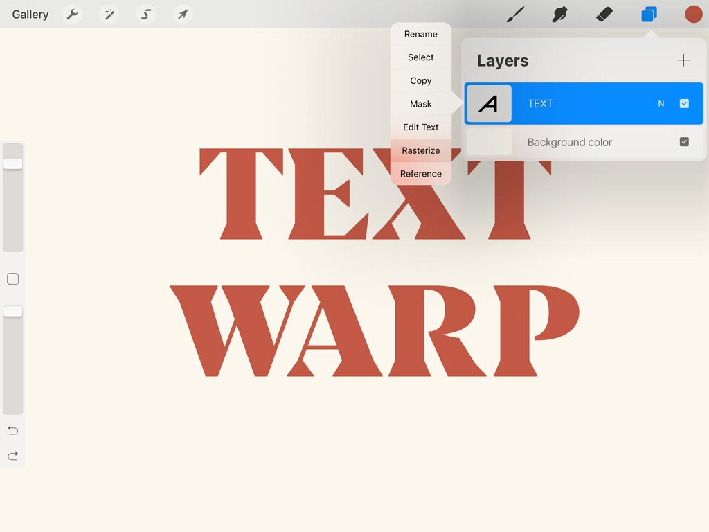 App Update: How to Use Text in Procreate