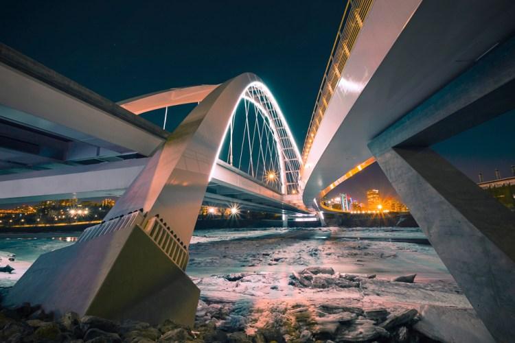 Traveling North with 10 Canadian Stock Photographers — Walterdale Bridge by Adam Zihla