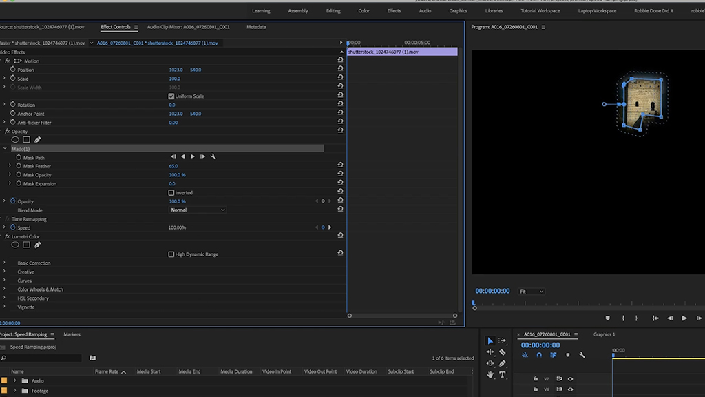 15 Things I Wish I Knew As A Beginner with Adobe Premiere — Masking and Tracking