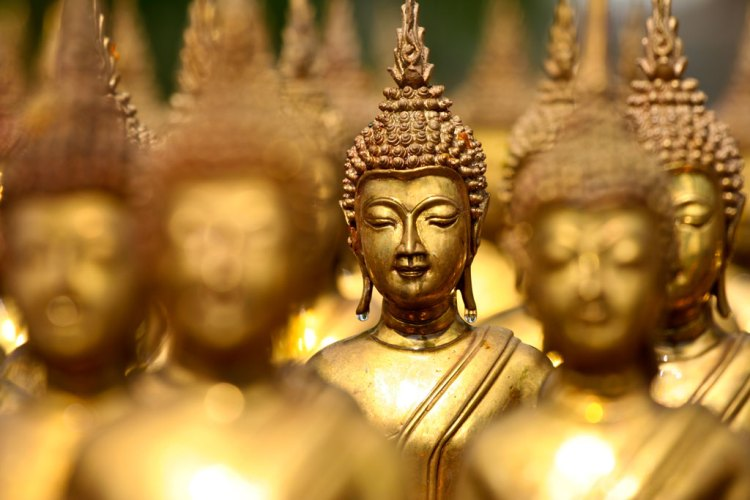 Good as Gold: The Symbolism and Design Power Color Gold — Buddhism