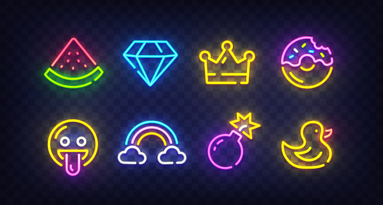 Find Inspiration from Works in Neon by 14 Illustrations