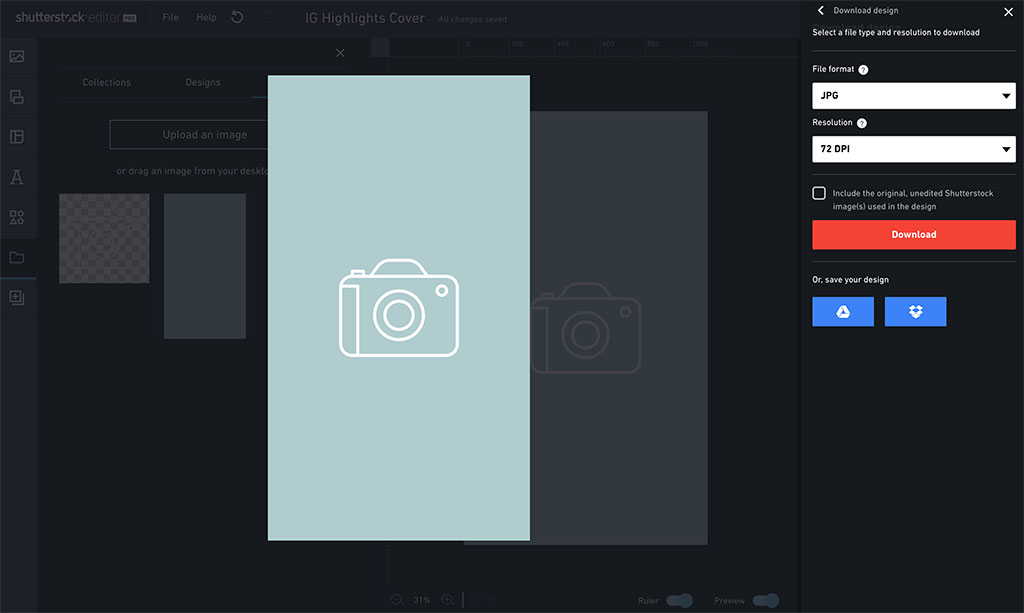 Free Instagram Pack: 145 Highlight Cover Backgrounds, Type