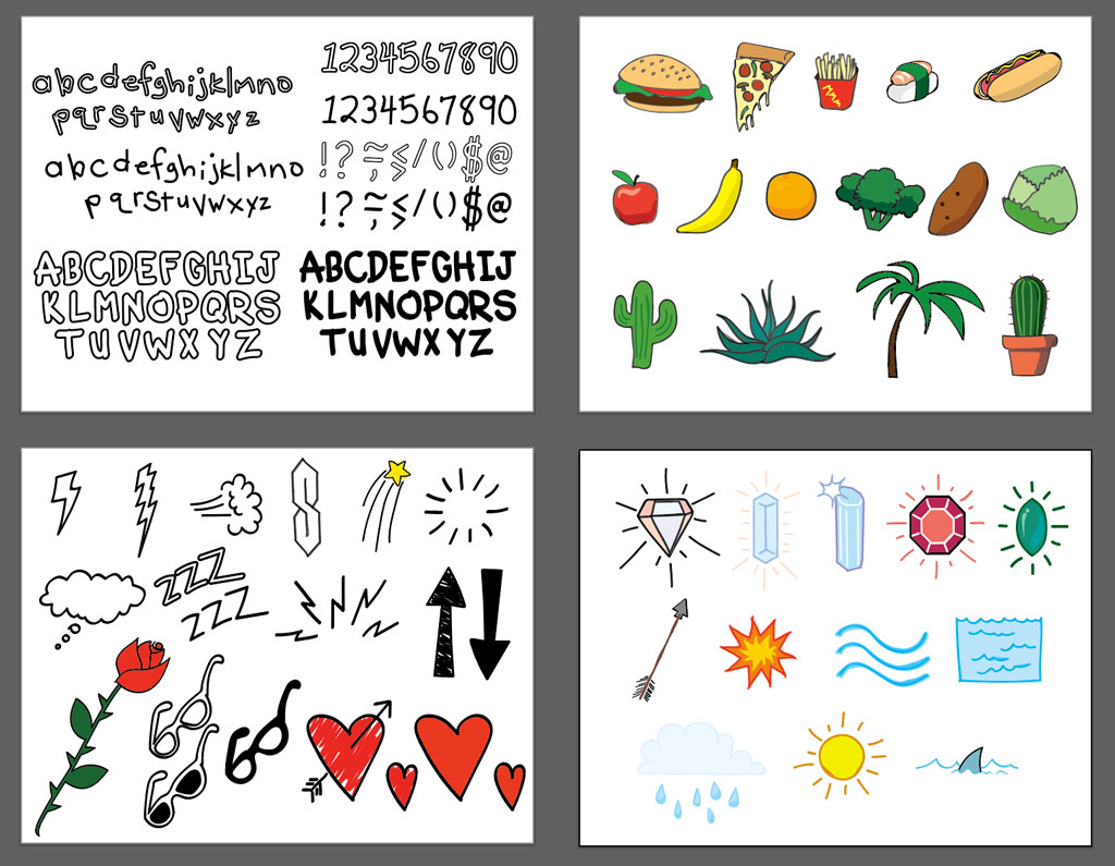 50+ FREE Vector Doodles and Lettering - The Shutterstock Blog