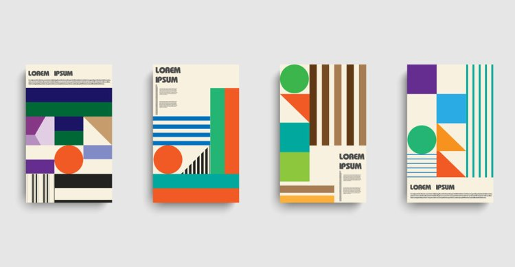 Bauhaus Brochure Template