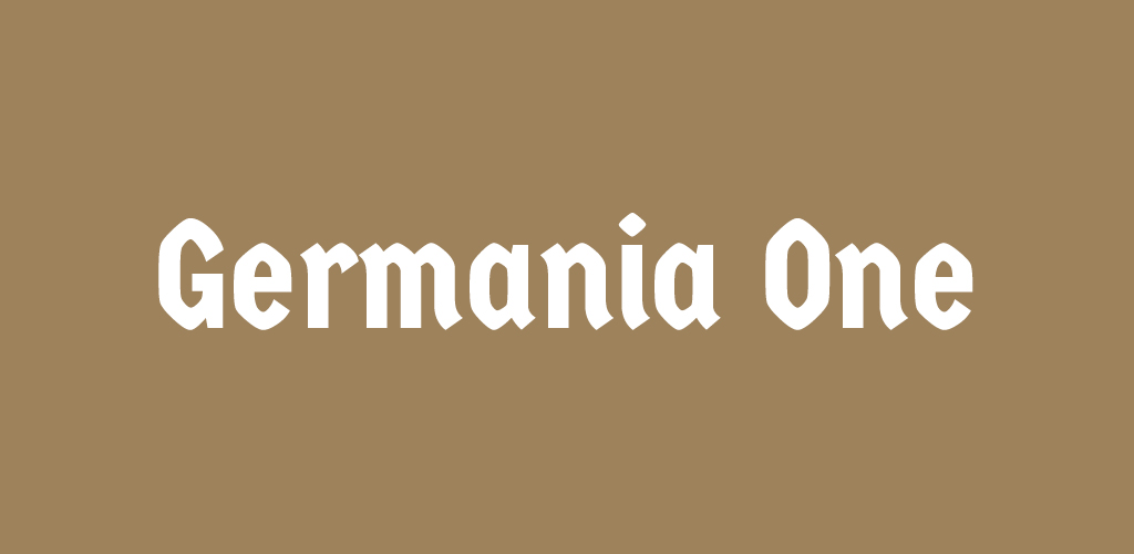 Free Holiday Font — Germania One
