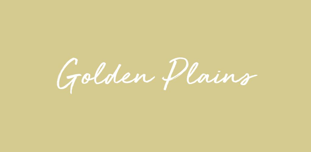 Безплатен сватбен шрифт - Golden Plains