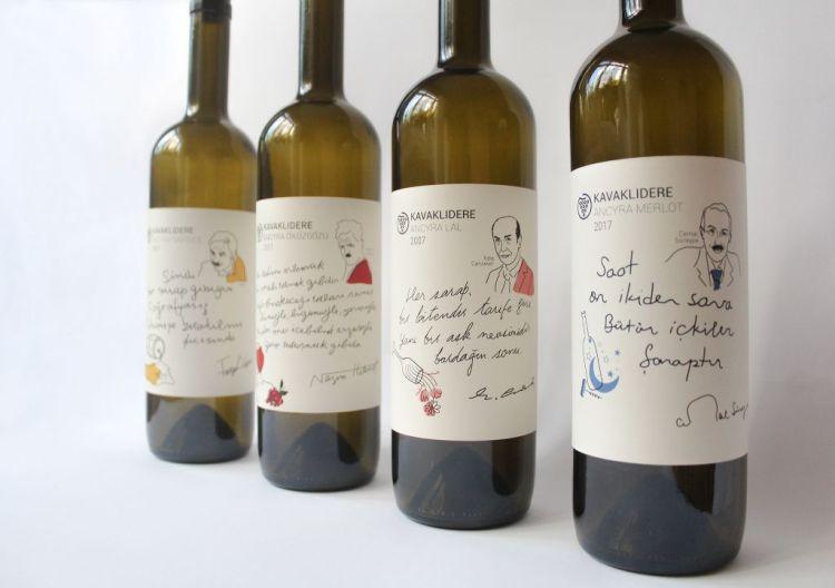 15 Creative And Contemporary Wine Label Designs