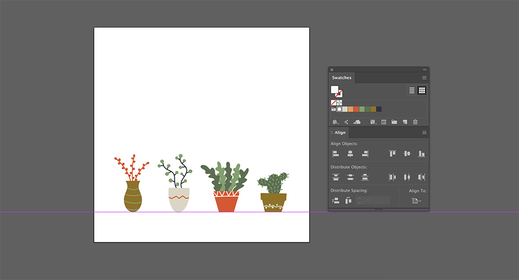 Design Inspiration: FREE 24 Illustrated Plants Pack — Custom Graphics
