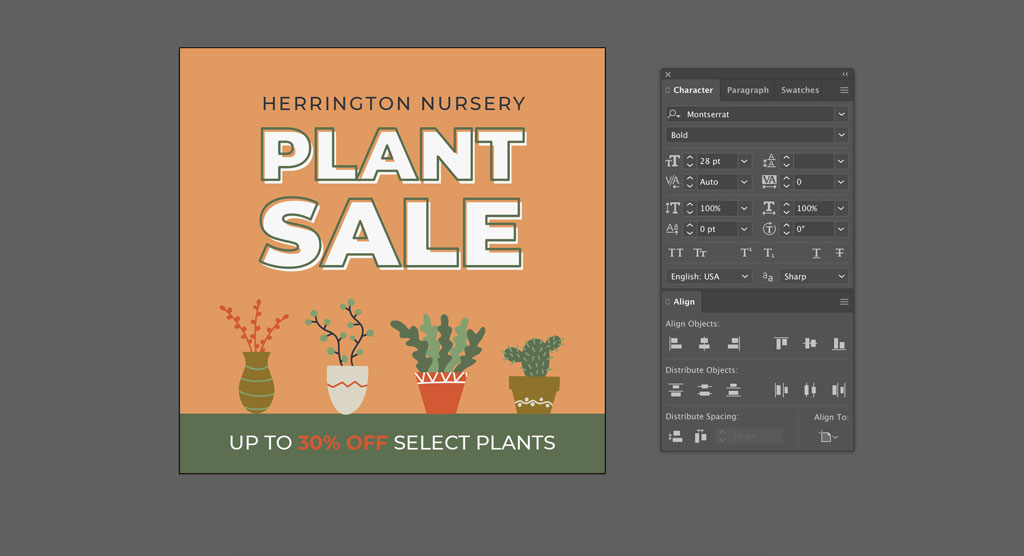 Design Inspiration: FREE 24 Illustrated Plants Pack — Type Tool