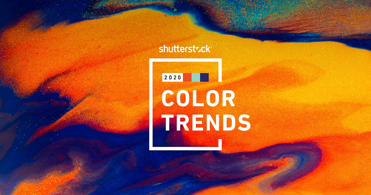Color Trends For 2020.Color Trends 2020 See The Spectrum Shutterstock